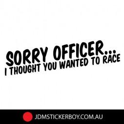 1135K-Sorry-Officer-200x41-W