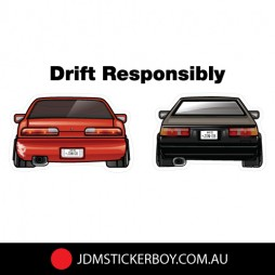 0530K---S13-AE86-Drift-Responsibly-190x78