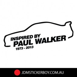 0542ST---Inspired-By-Paul-Walker-Car-200x70-W