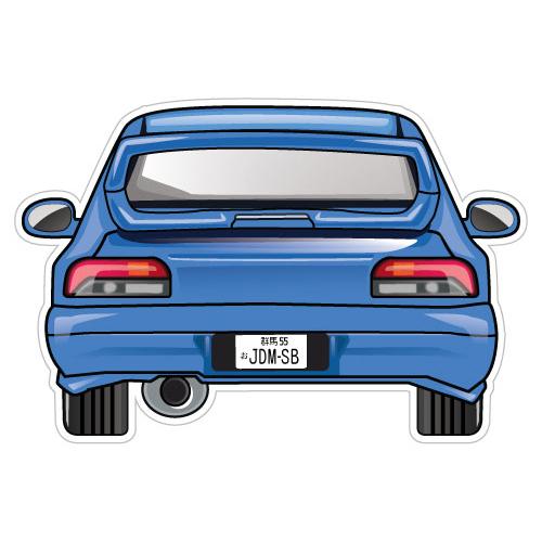 Impreza Wrx Gc8 Jdm Sticker Decal Car Jdmsb Garage Drift